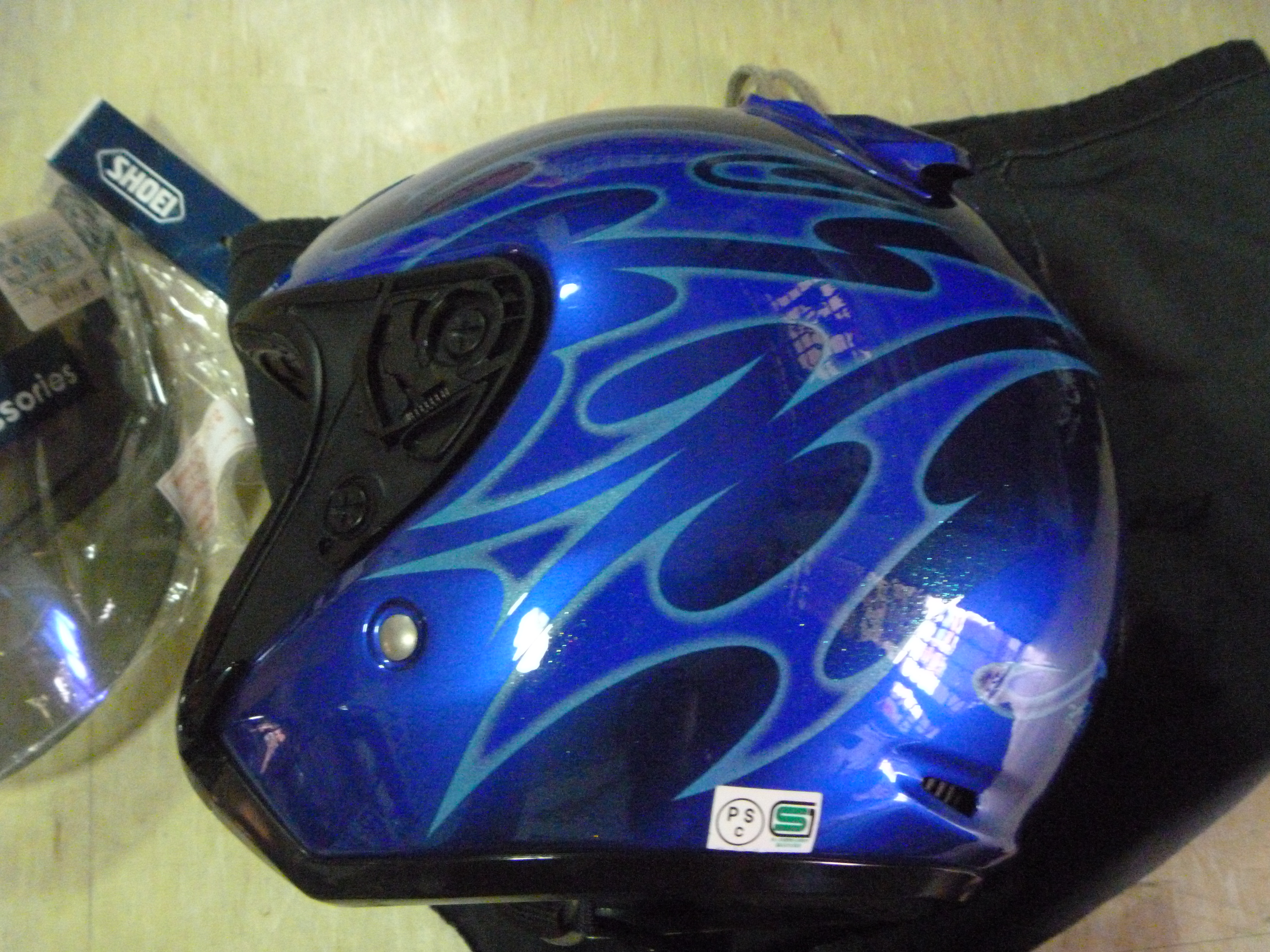 4173e294 Shoei J Force 2 II Jack Blue L 9.5/10 Complete. November 4, 2013 · P1050208  P1050209 P1050210 P1050211 P1050212 P1050213 P1050214 P1050215 P1050216